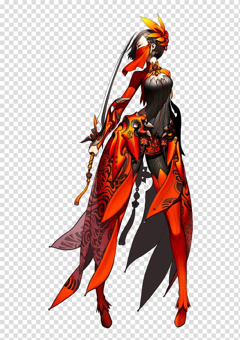 Blade and soul clipart vector royalty free Blade & Soul Character design Drawing, Blade transparent background ... vector royalty free