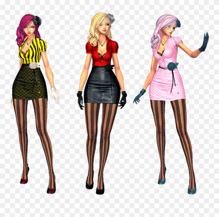 Blade and soul clipart clipart black and white stock Blade And Soul Fashion - Fashion Clipart (#767155) - PinClipart clipart black and white stock
