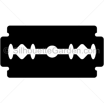 Blade clipart vector free library Razor blade clipart clipart images gallery for free download ... vector free library