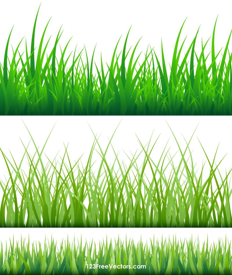 Blades of grass clipart banner free Grass Blades Clipart banner free