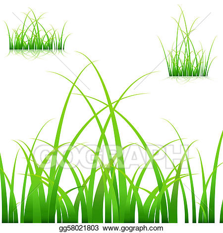 Blades of grass clipart clip free stock Vector Illustration - Blades of grass. EPS Clipart gg58021803 - GoGraph clip free stock