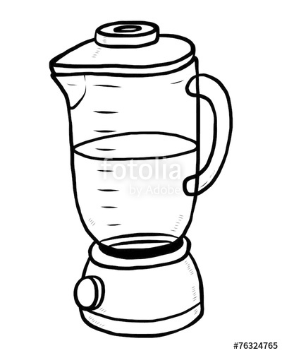 Blander clipart black and white free stock electric blender machine\