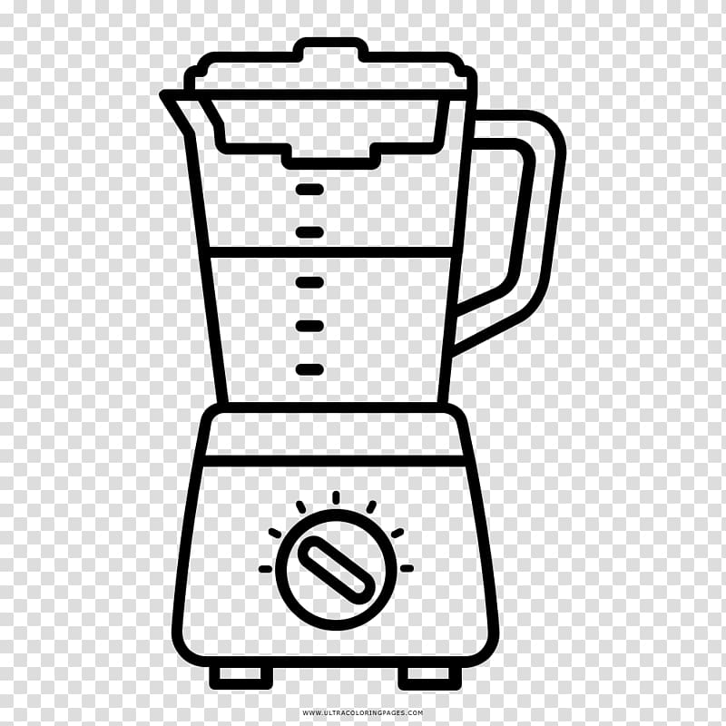 Blander clipart black and white freeuse library Blender Coloring book Drawing Computer Icons, blender transparent ... freeuse library