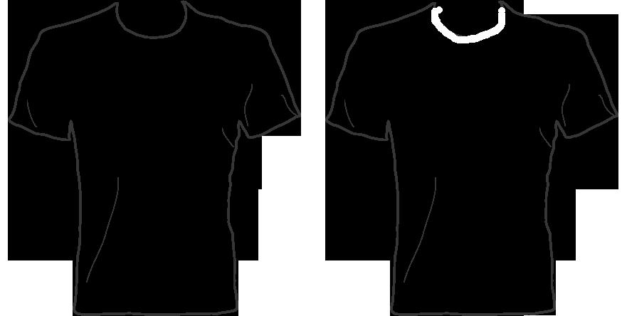 Blank basketball jersey clipart jpg transparent download T-shirt Order Form Clipart jpg transparent download
