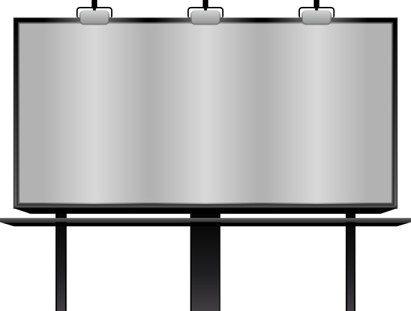 Blank billboard clipart banner transparent stock Blank Billboard clip art Free vector in Open office drawing svg ... banner transparent stock