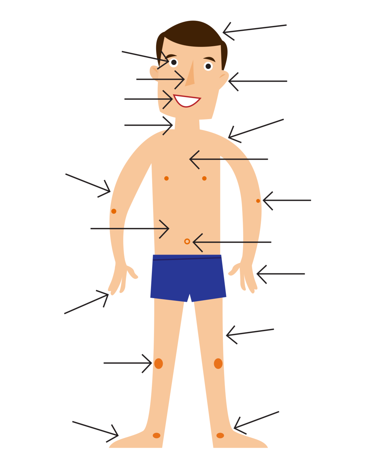 Blank body parts clipart picture library stock Free Body Cliparts, Download Free Clip Art, Free Clip Art on Clipart ... picture library stock