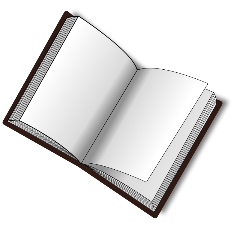 Open book animation clipart picture royalty free library Blank Book PNG Image - PurePNG | Free transparent CC0 PNG Image Library picture royalty free library