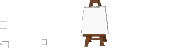 Blank canvas clipart clipart free library Blank Canvas On Easel Clip Art at Clker.com - vector clip art online ... clipart free library