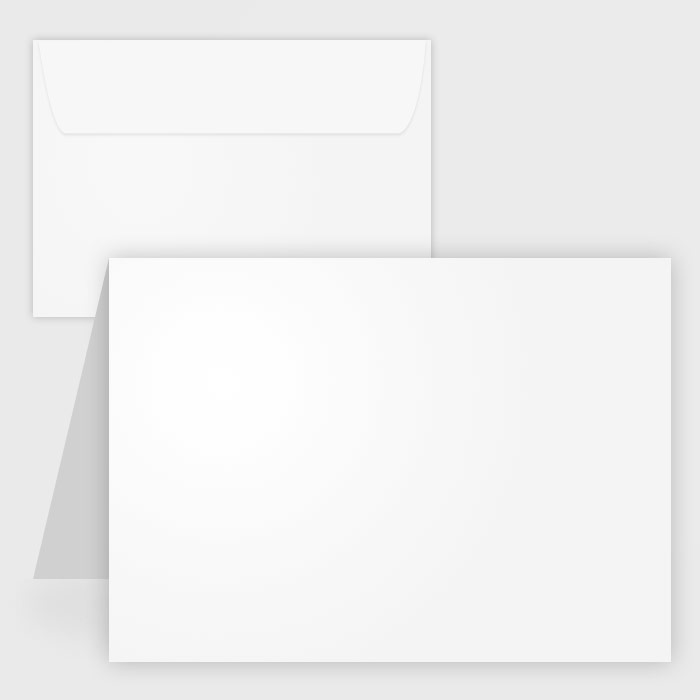 Blank greeting card clipart