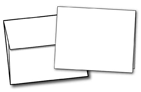 Library of blank card and envelope graphic free library ...