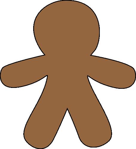 Blank christmas clipart gingerbread man clip art library Blank Gingerbread Man Clip Art - Blank Gingerbread Man Image clip art library