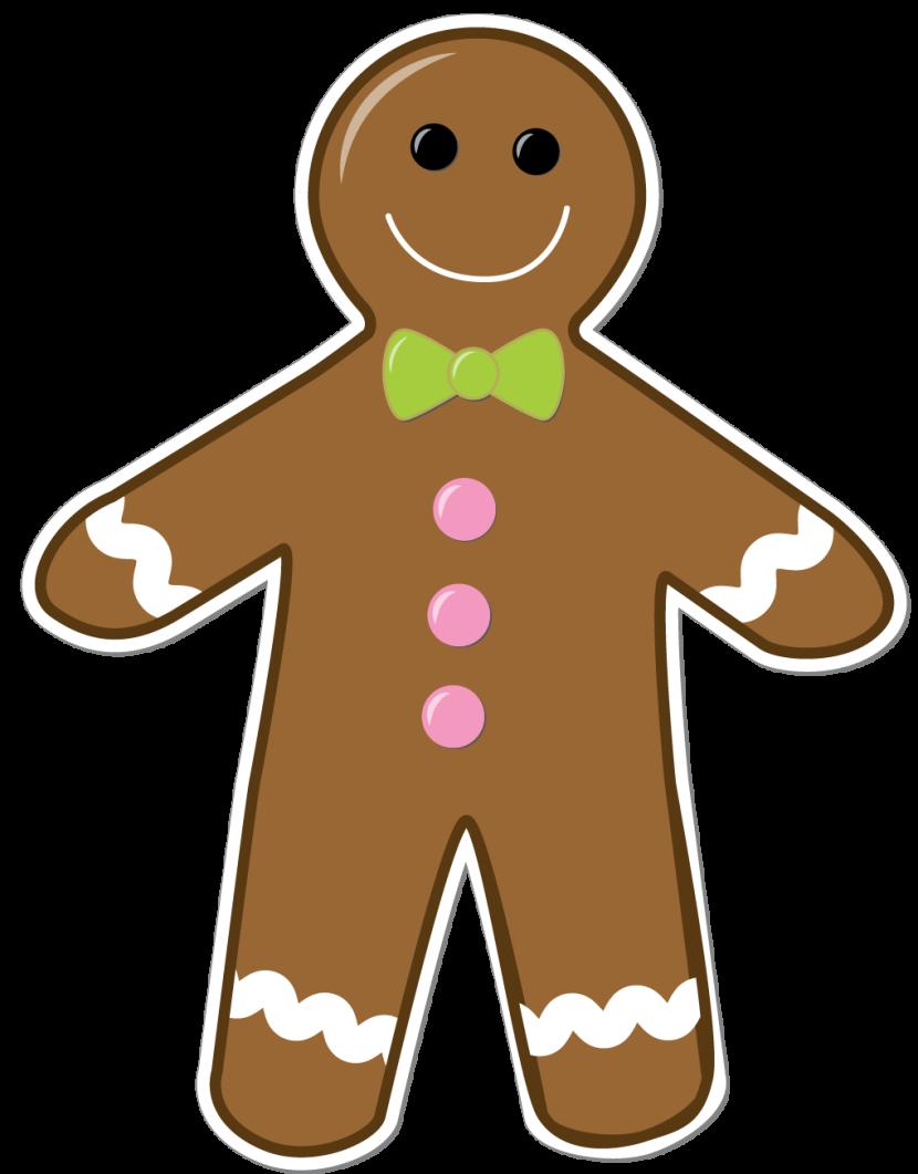 Blank christmas clipart gingerbread man picture library stock Christmas gingerbread man clip art image 2 - ClipartBarn picture library stock