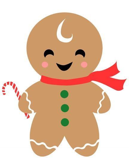 Blank christmas clipart gingerbread man graphic freeuse Gingerbread Man Gift Tag | Christmas Paper Crafts | Christmas ... graphic freeuse