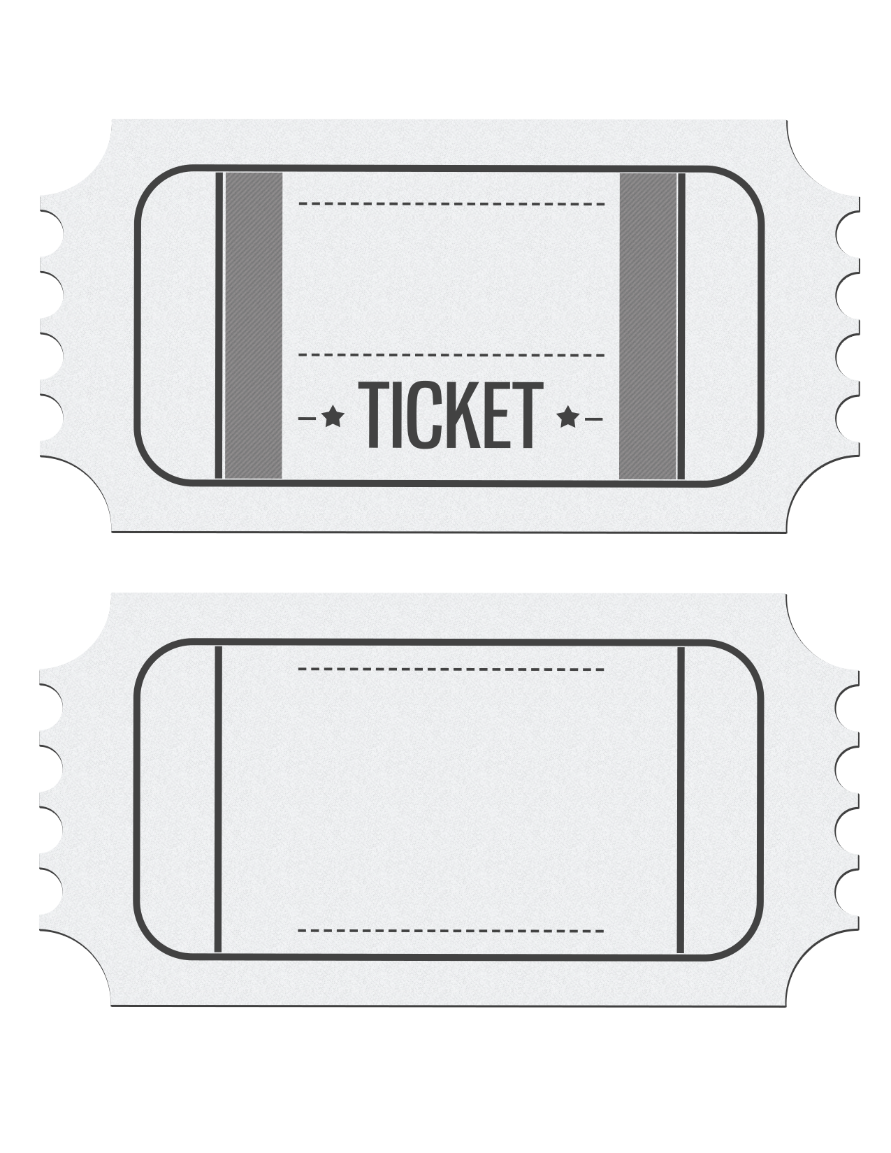 Blank cinema ticket clipart clipart free stock Pin by Lucy Escobedo on Cool | Ticket template, Ticket invitation ... clipart free stock