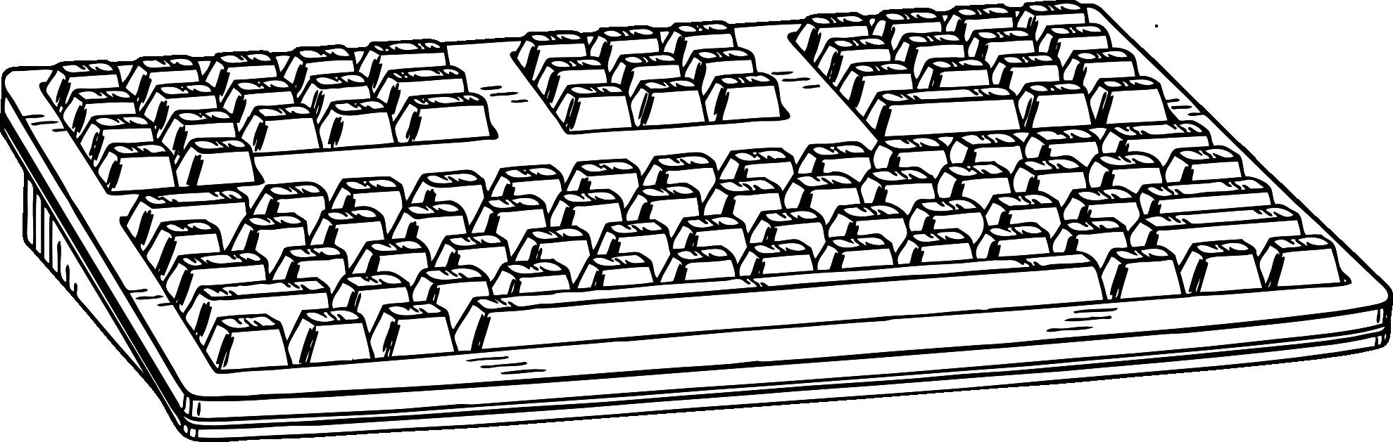 Blank computer keyboard clipart clip art Dell Computer Keyboard Clipart Clip art of Keyboard Clipart #7313 ... clip art