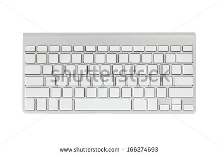 Blank computer keyboard clipart banner library stock Blank Keyboard Layout Computer Input Element Stock Vector ... banner library stock