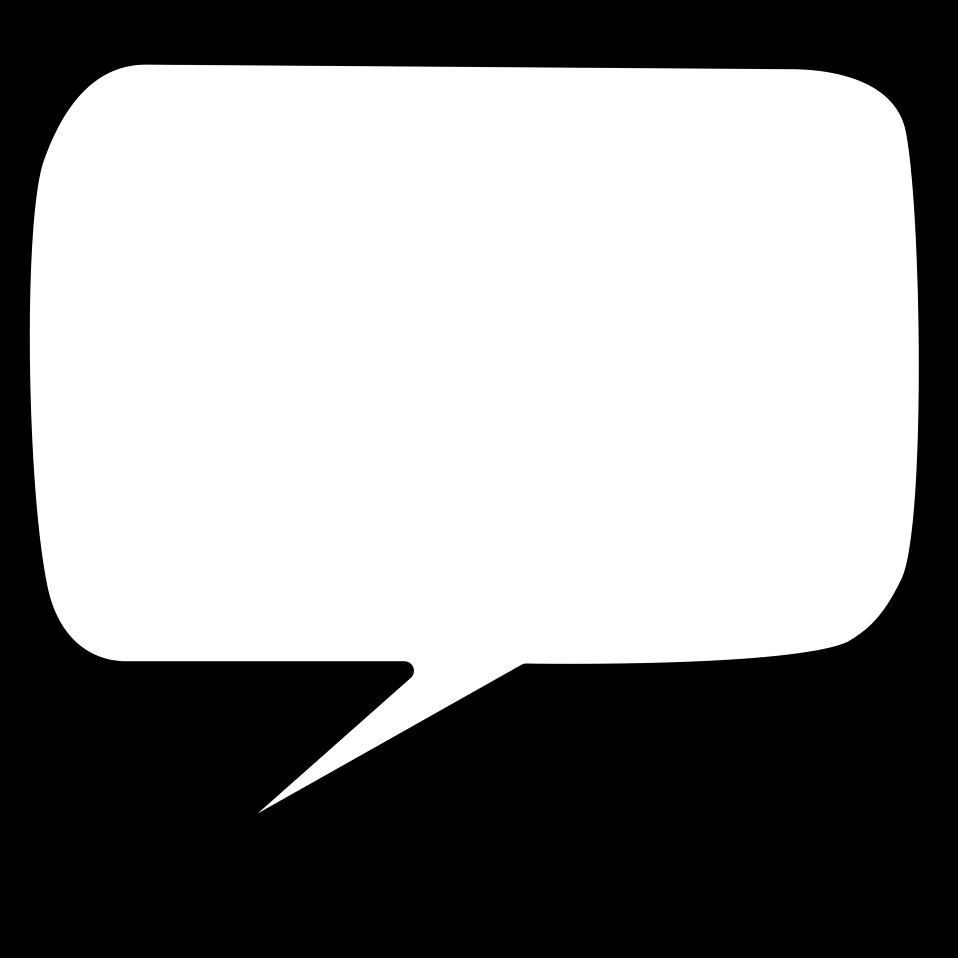 Blank conversation bubble clipart clip freeuse Empty Speech Bubble | Free download best Empty Speech Bubble on ... clip freeuse