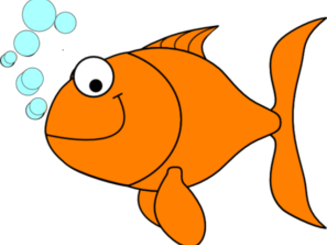Blank fish clipart image black and white library Gold Fish Clipart single fish - Free Clipart on Dumielauxepices.net image black and white library