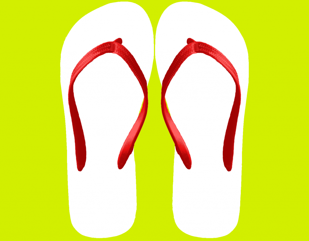 Blank flip flop clipart clipart stock Personalised Flip Flop clipart stock