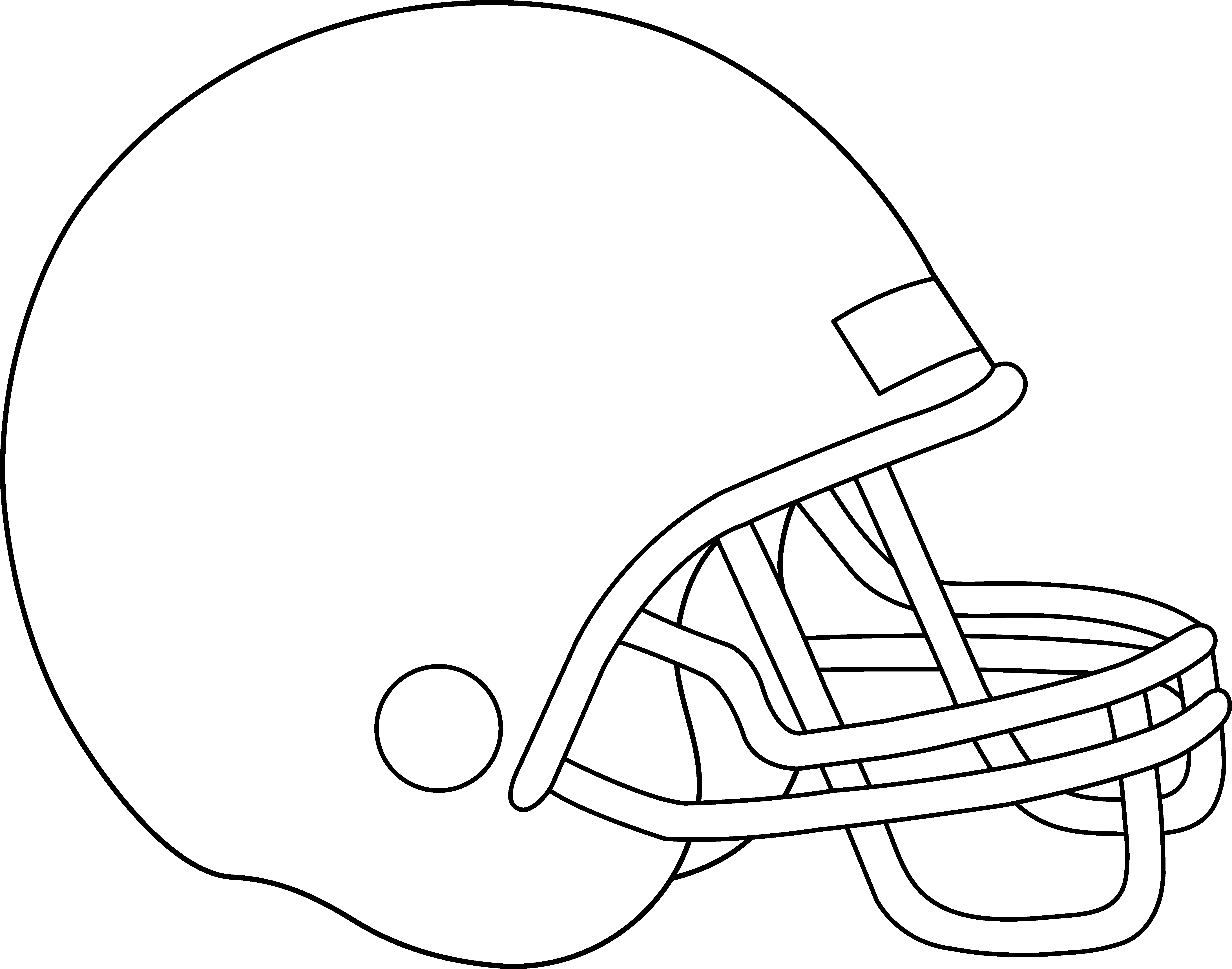 Football page clipart outline clip art transparent library Football Teams Coloring Pages - Eskayalitim clip art transparent library