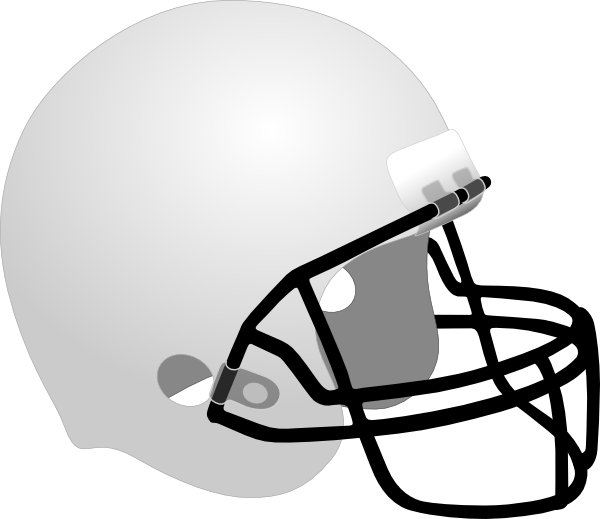 Helmet clip art at. Football equipment clipart