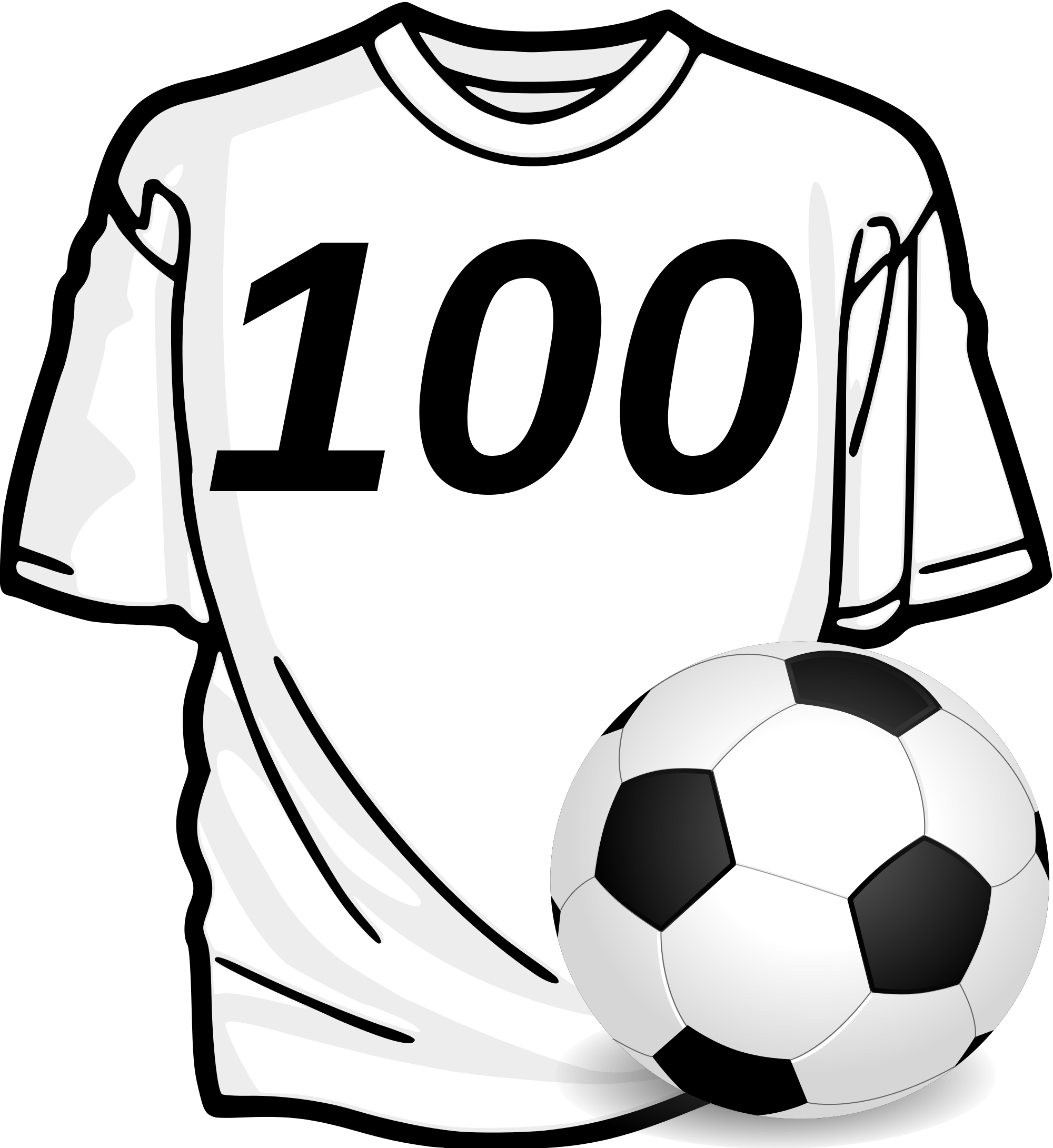 File:Football-Players-100-match.svg - Wikimedia Commons image black and white library