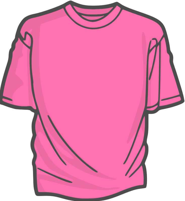 Blank football jersey clipart graphic download Clipart - DigitaLink-Blank-T-Shirt-2 graphic download