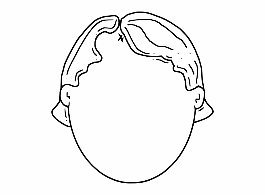 Blank head clipart clipart download Blank Face Boy Clip Art At Clker - Clip Art Of Head Free PNG Images ... clipart download