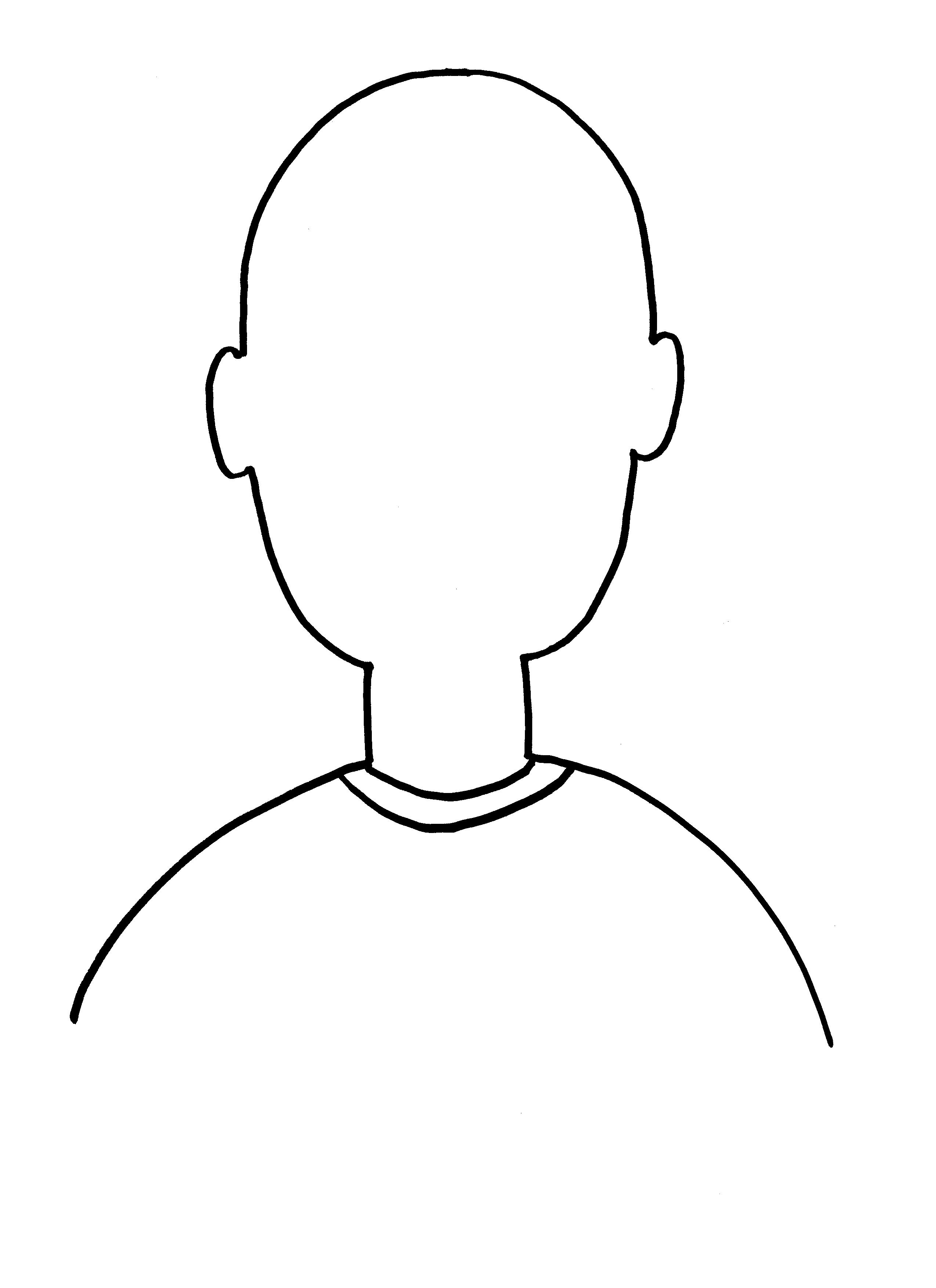 Blank head clipart banner royalty free download Free Blank Person Template, Download Free Clip Art, Free Clip Art on ... banner royalty free download