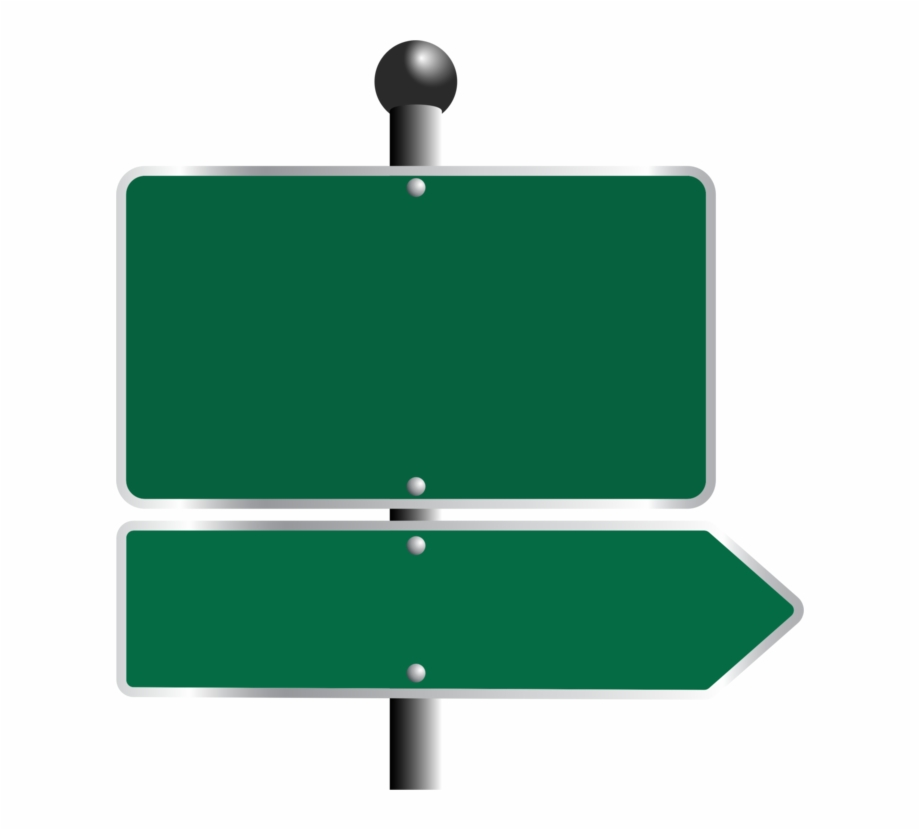 Blank street signs on pole png free clipart vector vector black and white library Traffic Sign Road Highway Free Commercial Clipart - Blank Road Sign ... vector black and white library