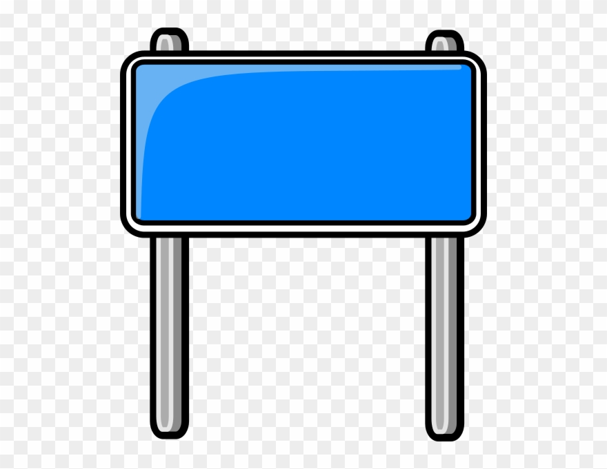 Interstate highway signs clipart stock Highway Sign Blue - Blank Road Signs Clip Art - Png Download ... stock