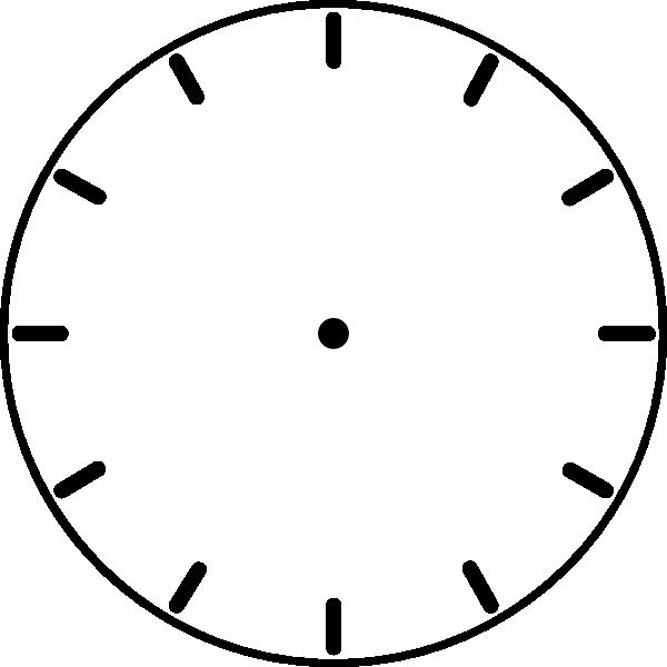 blank clock face clipart clock face hi - Clip Art. Net clip black and white download