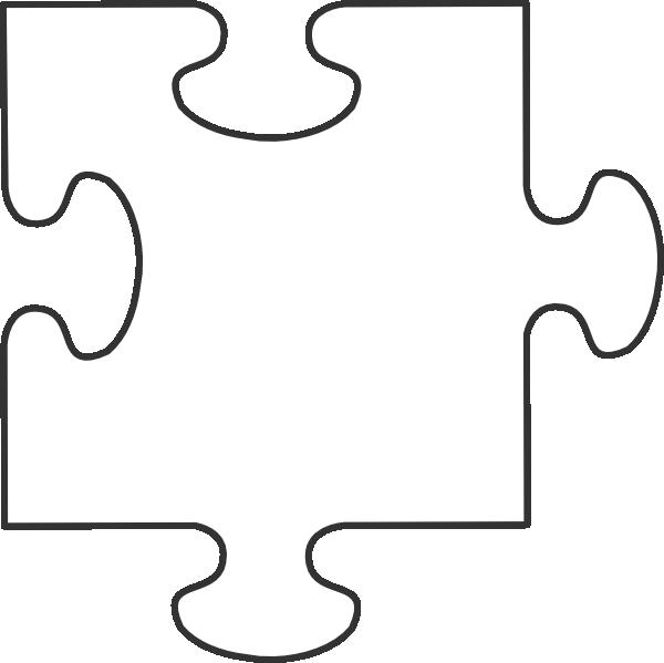 House puzzle clipart vector transparent download Large Blank Puzzle Pieces | White puzzle piece clip art | Teachery ... vector transparent download