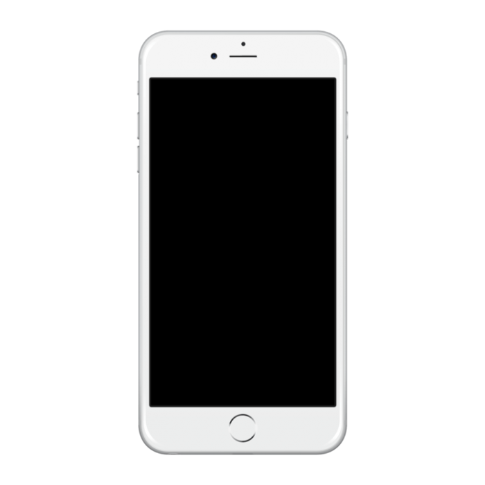 Blank iphone application screen clipart banner black and white library Blank Iphone Screen Png Vector, Clipart, PSD - peoplepng.com banner black and white library