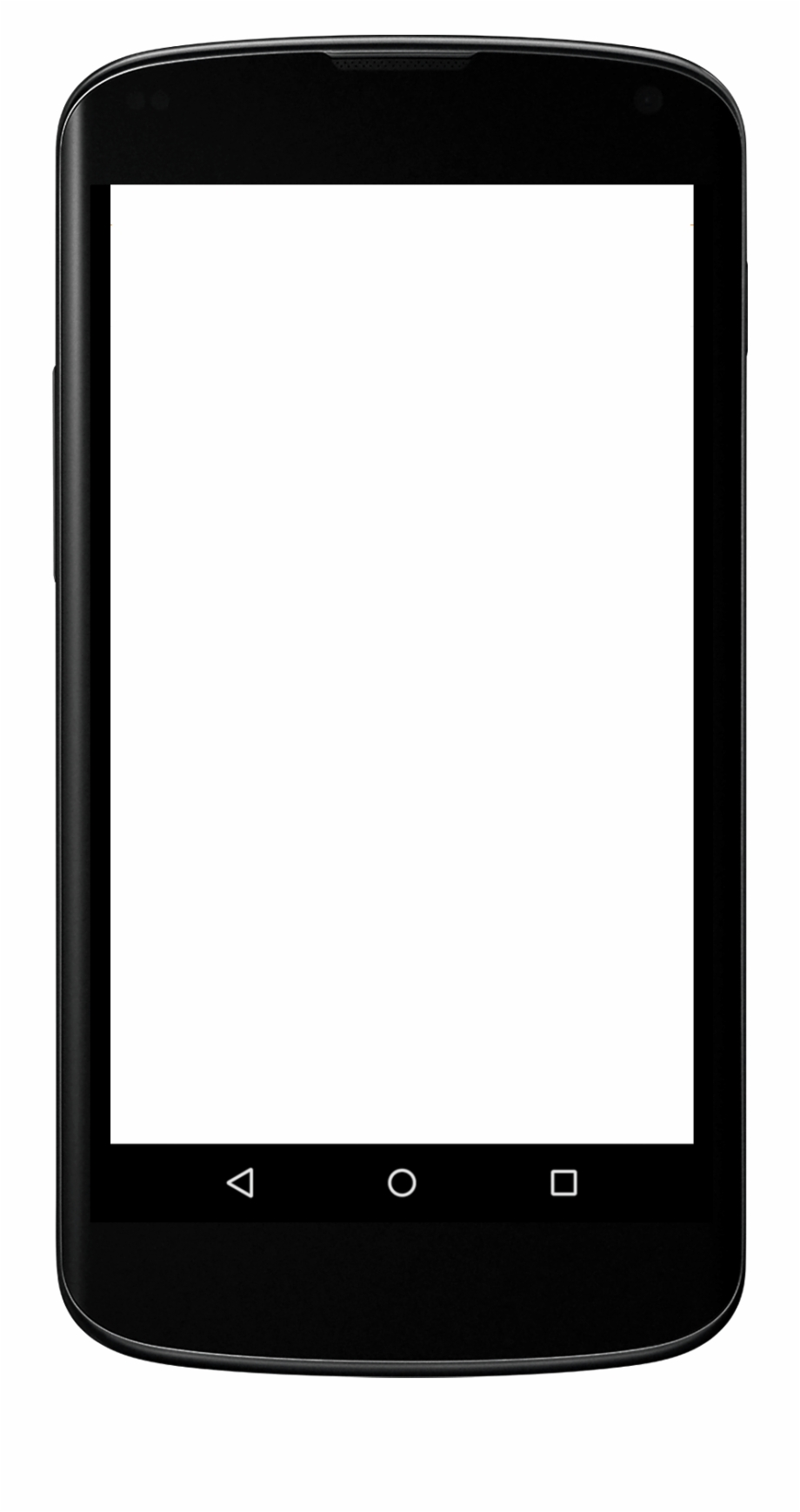 Blank iphone application screen clipart vector stock Iphone Smartphone Mobile Web Text Messaging Clip Art - Blank Mobile ... vector stock
