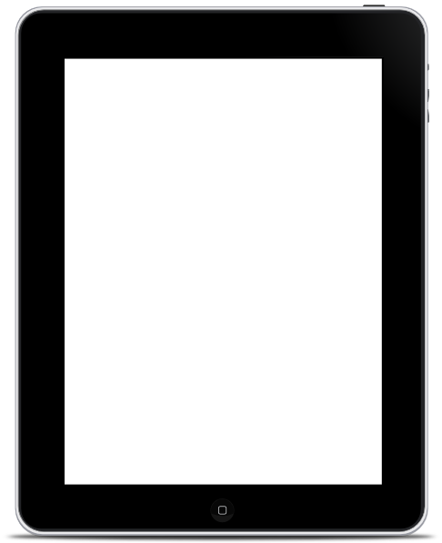 Blank iphone screen clipart black and white download Ipad Blank Screen Clip Art at Clker.com - vector clip art online ... black and white download