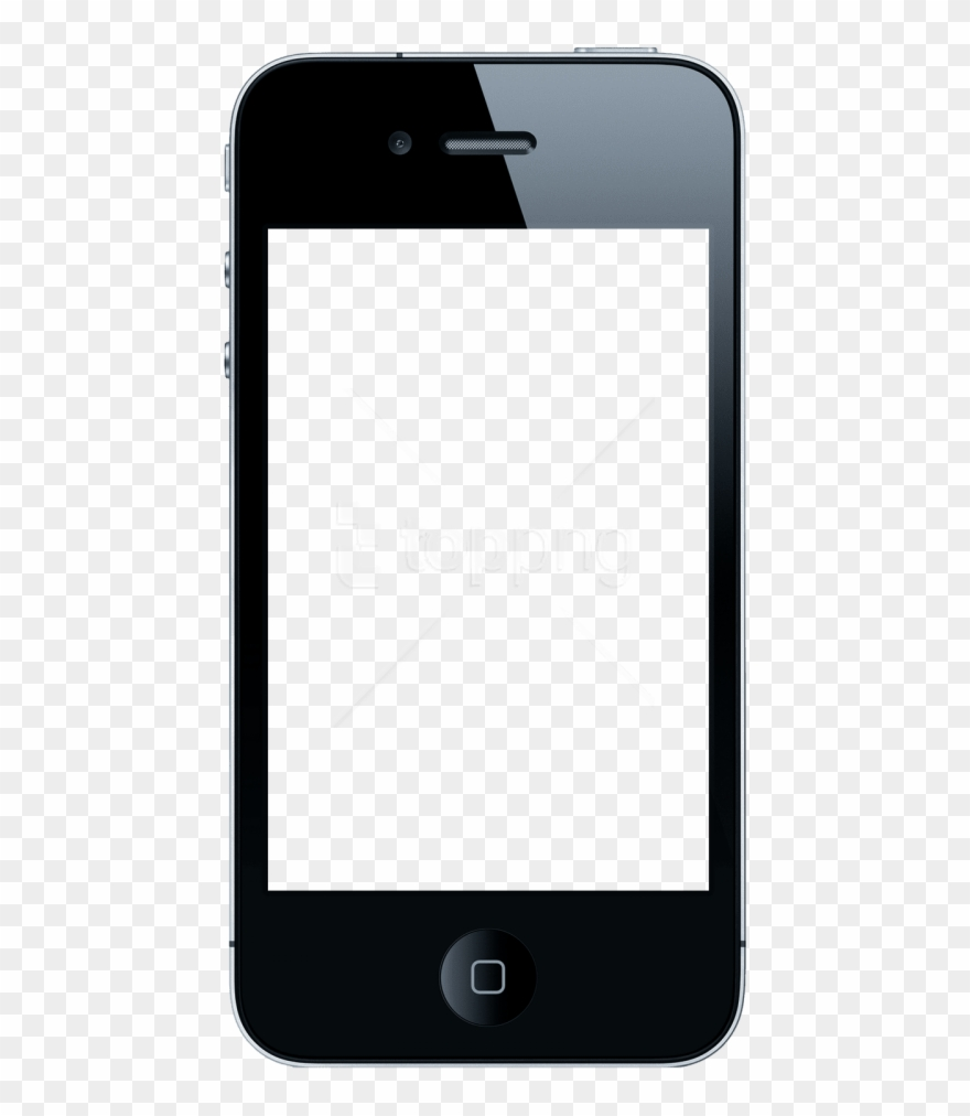 Text phone clipart png library Download Iphone Apple Clipart Png Photo - Blank Phone Text Screen ... png library