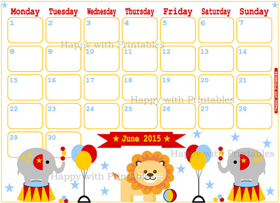Blank june calendar clipart png royalty free library June preschool calendar clipart - ClipartFest png royalty free library