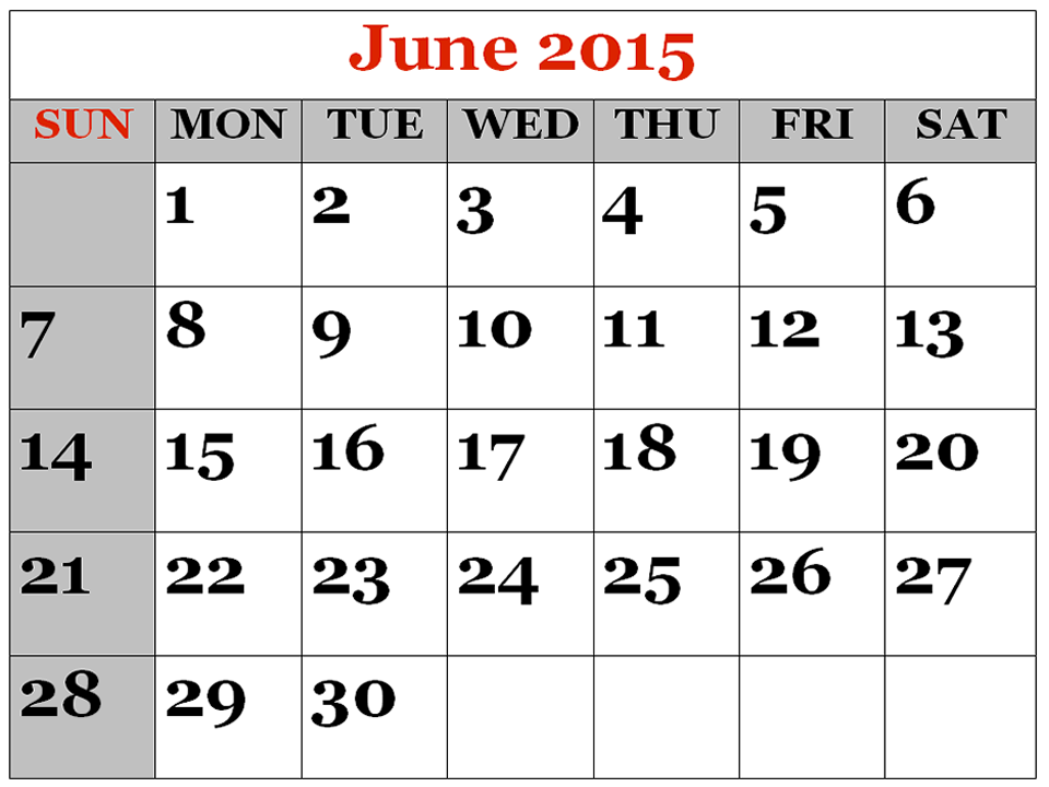 Blank june calendar clipart png transparent Blank june calendar clipart - ClipartFox png transparent