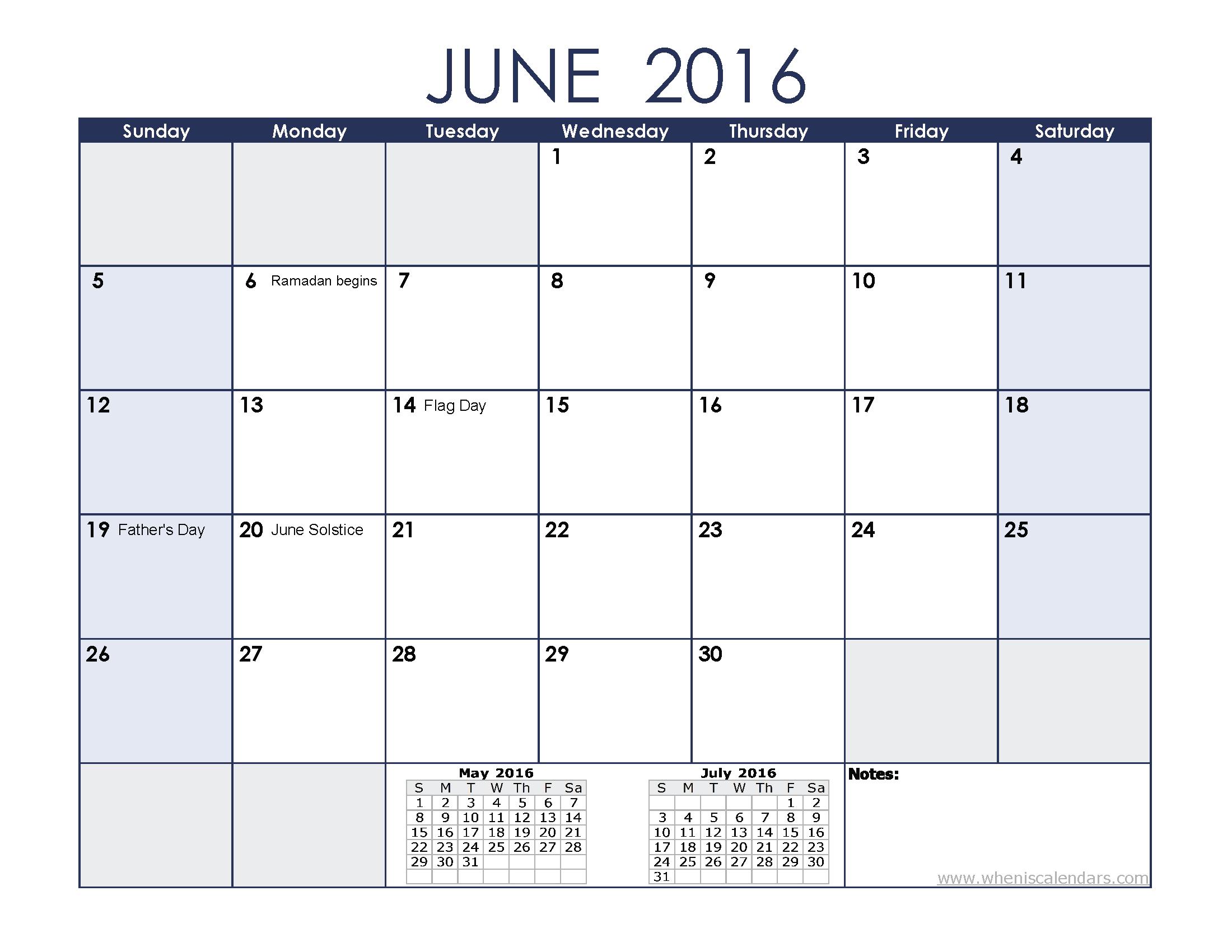 Blank june calendar clipart image transparent June 2016 calendar clipart - ClipartFest image transparent
