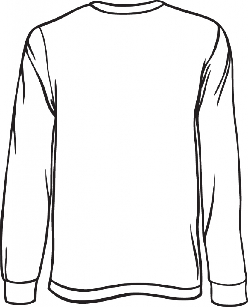 Blank long sleeve shirt clipart image royalty free download Free Longsleeve Shirt Cliparts, Download Free Clip Art, Free Clip ... image royalty free download