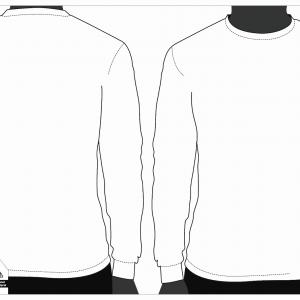 Blank long sleeve shirt clipart clip art royalty free stock White Mens T Shirt Blank Template Vector Clipart | SOIDERGI clip art royalty free stock