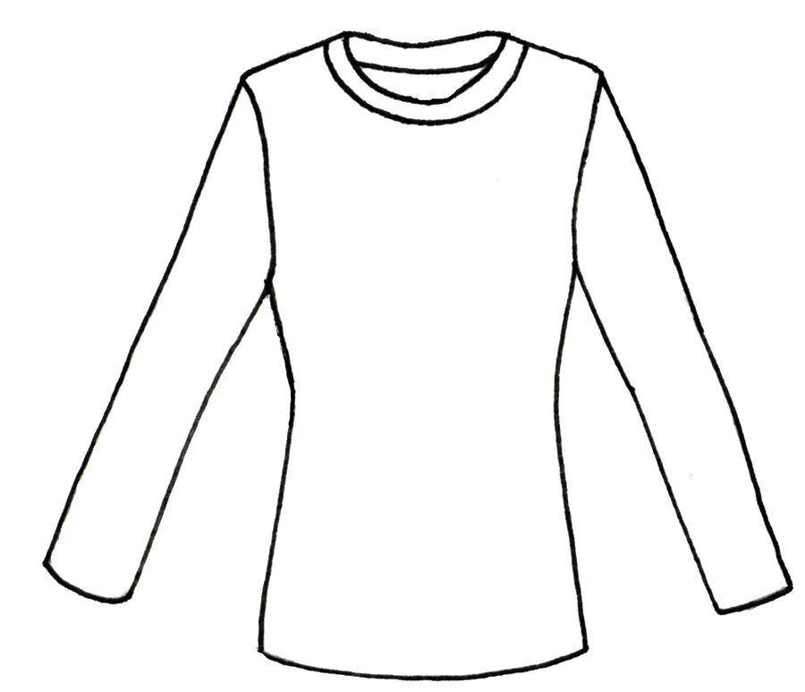 Blank long sleeve shirt clipart graphic stock Blank Basketball Jersey Clipart | Free download best Blank ... graphic stock