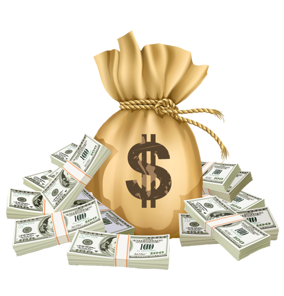 Row of money bags clipart png free stock Gallery - Free Clipart Pictures png free stock