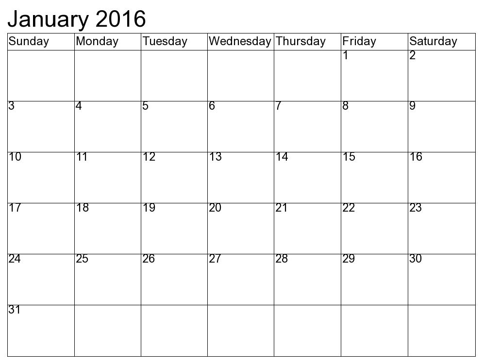 Clipartfest january . Blank month calendar clipart