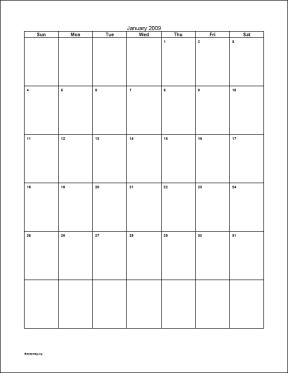Blank month calendar clipart clipart freeuse Blank vertical calendar clipart - ClipartFox clipart freeuse