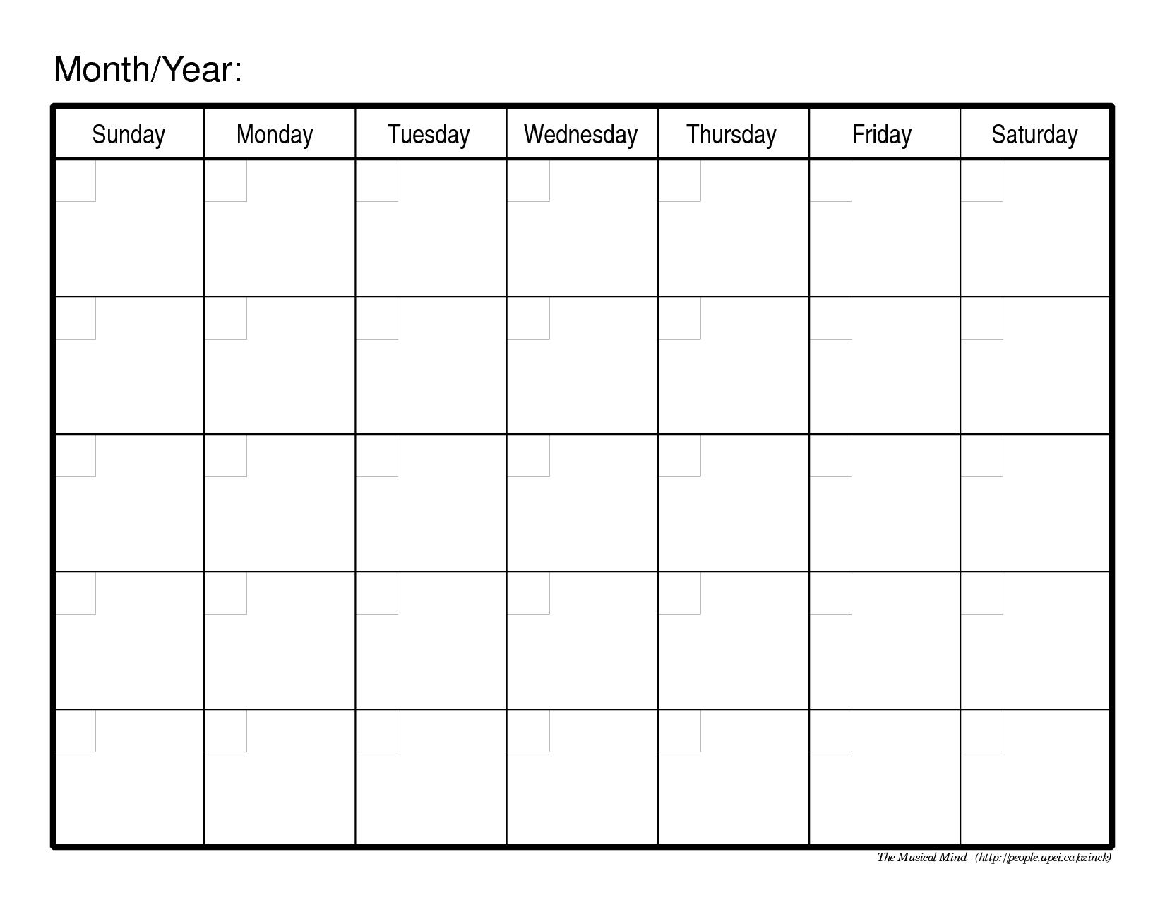 Blank month calendar clipart vector royalty free Birthday Calendar Template. free birthday calendar. blank monthly ... vector royalty free
