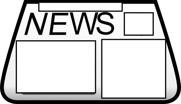 Blank newspaper clipart banner Blank Newspaper Clipart & Free Clip Art Images #2226 - Clipartimage.com banner