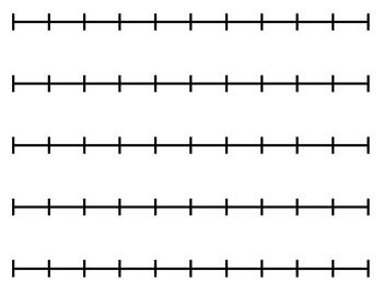 Blank number line clipart 0-20 banner freeuse stock Blank Number Line (for any activity) | school stuff | Math clipart ... banner freeuse stock