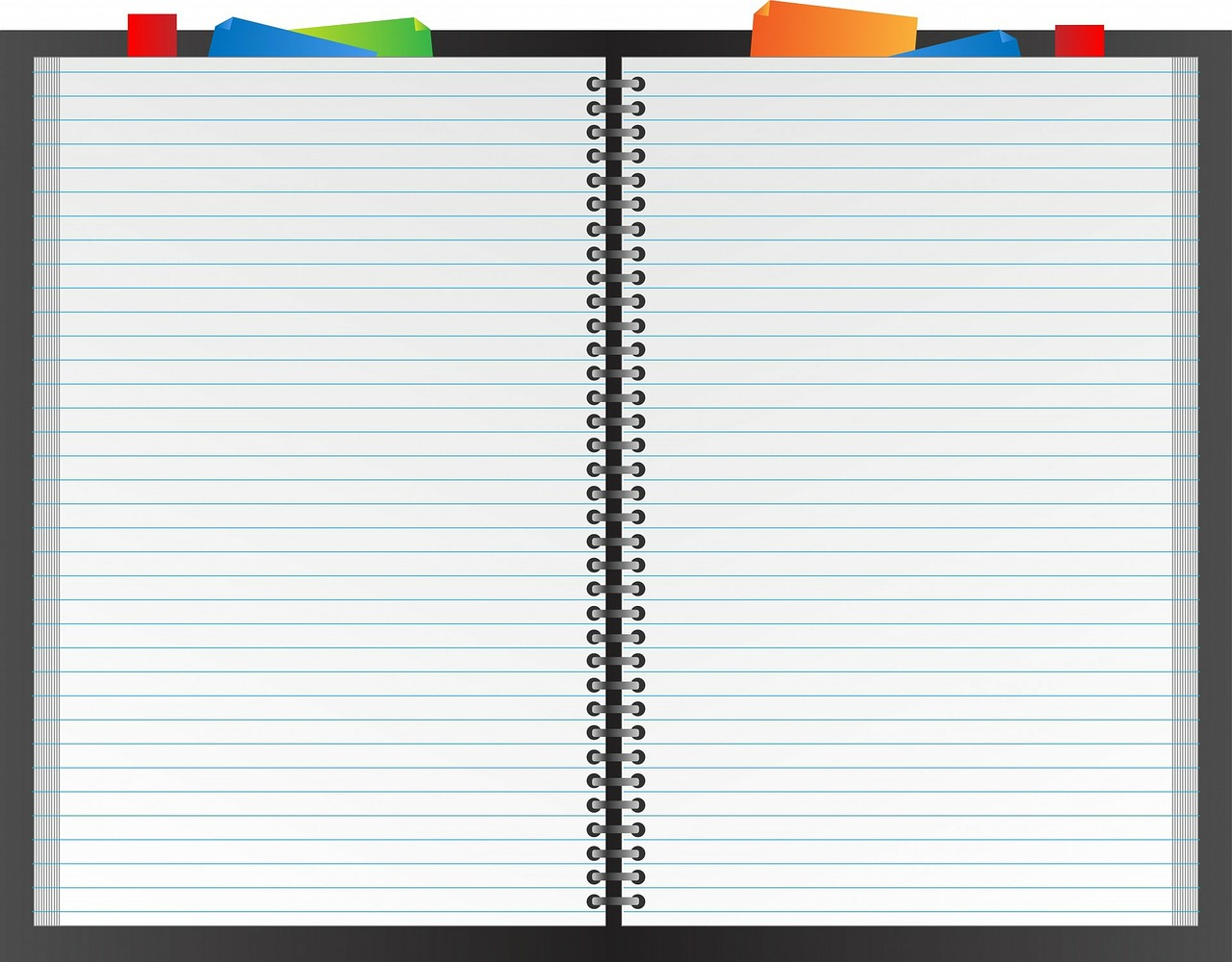 Blank open spiral note book clipart free svg free download Notebook,book,planner,note paper,paper - free photo from needpix.com svg free download